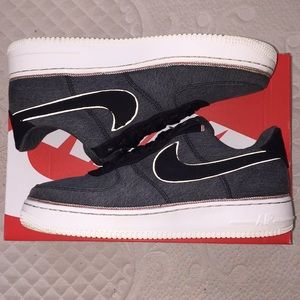 LIKE NEW! Men's Denim Nike AF1 '07 Premium!